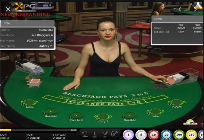 XPROGAMING LIVE CASINO